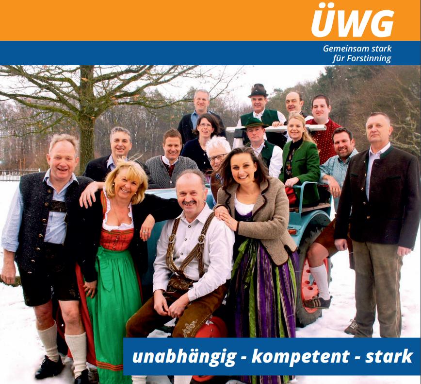 ÜWG Forstinning Wahl 2014